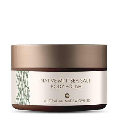 Native Mint Sea Salt Body Polish
