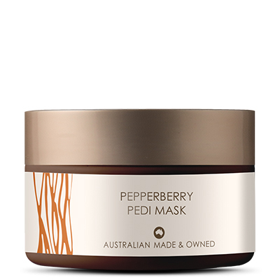Pepperberry Pedi Mask