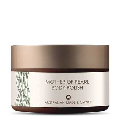 MOTHER OF PEARL BODY POLISH
